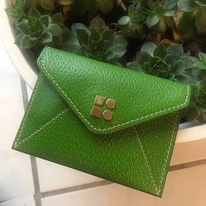 Kate Spade Baby Nikolette Green Card Wallet